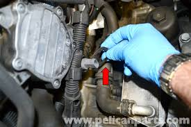 volkswagen golf gti mk v coolant temperature sensor replacement