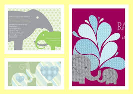 best elephant baby shower invitations theme party planning