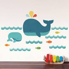 Children Wall Decals Whale Baby Wall Decal Walldecals Com