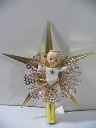 Christmas Decorations Fairy Tree Topper by 312 Best Vintage Christmas Tree Toppers U0026 Angels Images On