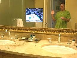 Mirror Bathroom Tv Tv In Mirror Bathroom Juracka Info