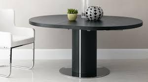 Black Glass Extending Dining Table Black Ash Extending Dining Table Pedestal Base Uk At
