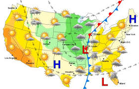national weather forecast map map weather my