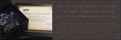 senior home care services elderly care first care of new york