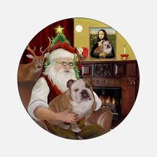bulldog ornament cafepress