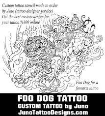 foo dog tattoo template by juno tattoo design how to create a