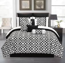 Bedspread Sets King Black And White Comforter Sets King Melonic