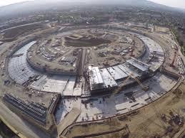 the best view yet of apple u0027s new u0027spaceship u0027 campus that u0027s