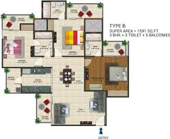 Floor Plan Homes Amaatra Homes Greater Noida West Amaatra Homes Noida Extension