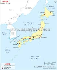 Cities In Italy Map by Japan Cities Map Major Cities In Japan
