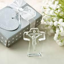 Crystal Baptism Favors Glass Cross Bell Baptism Favor From 0 75 Hotref Com
