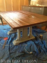 dining room table and mismatched chairs diy in real life