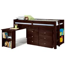 overstock com com napoli low loft twin bed with 6 drawer storage