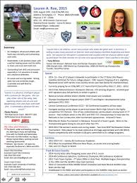 Resume For National Honor Society Athletic Resume The Best Resume