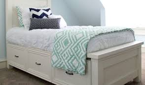 Twin Bed With Storage How To Make Your Own Diy Storage For A Twin Bed Diy Avenue