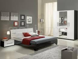 chambre laqué blanc chambre complète ginola 160x200 cm noir laque blanc laque chez mobistoxx