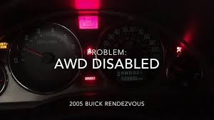 2005 buick rendezvous awd disable youtube