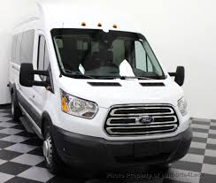 ford transit 2016 used ford transit wagon transit t350 hd dually extended high