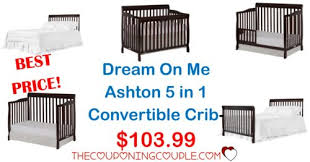 Hton Convertible Crib Best Price On Me Ashton 5 In 1 Convertible Crib 103 99