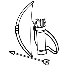 8 archery coloring pages images coloring pages