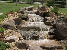 Backyard Pondless Waterfalls by Disappearing Pondless Waterfall Landscape Ideas Charlotte North