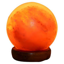 Accentuations By Manhattan Comfort Sphere Shaped Himalayan Salt