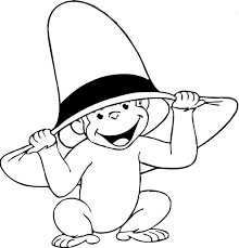 curious george coloring pages print coloring