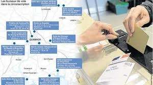 les bureaux de vote quimper la carte des bureaux de vote pour la primaire de droite
