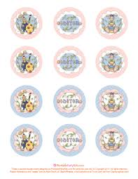 free printable easter cupcake toppers printable party kits