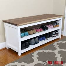 Wood Storage Bench Diy by Best 25 Shoe Bench Ideas On Pinterest Diy Bench Front Porch