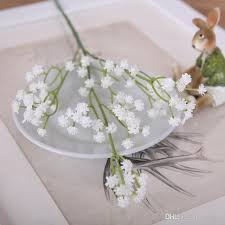 Artificial Lilies In Vase 2017 Stick In A Vase Of Gypsophila Artificial Flowers Table