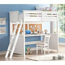 Bunk Bed With Storage And Desk Storage Loft Bed With Desk