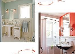 Bathroom Shelf Over Sink Bathroom With Chair Rail And Glass Wall Shelf Over Dual Flush