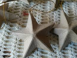 paper mache star ornaments 3