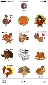 turkey stickers thanksgiving turkey stickers thanksgiving turkey for imessage on the app store