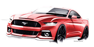 mustang design the evolving design themes of the 2015 ford mustang