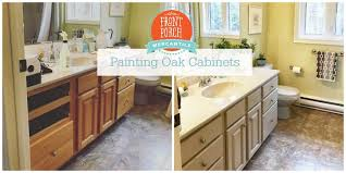what paint to use on oak cabinets how to paint oak cabinets front porch lifestyle