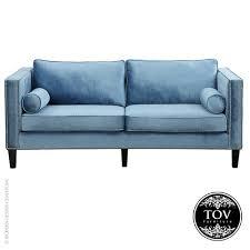 cooper blue velvet sofa tov allmodernoutlet