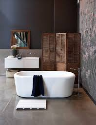 how to create an industrial style bathroom design hart house