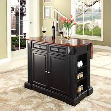 crosley kitchen island crosley furniture drop leaf breakfast bar top kitchen island