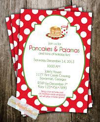 christmas brunch invitations christmas breakfast party invitation for christmas
