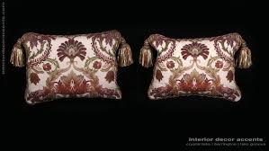 pindler washed brocade old world weavers velvet designer pillows