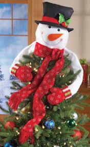 snowman tree snowman tree topper ebay