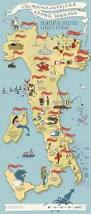 Italy On World Map by Gastronomic Map Italy On Behance