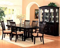 dinning black dining room cabinet dinette sets dining table set