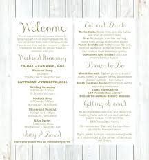 wedding reception itinerary reception invitation after destination wedding welcome letter