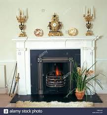 gilt candelabra antique clock mantelpiece fireplace mastercrafters
