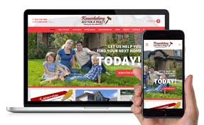 launch of responsive real estate and auction website clear