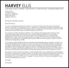Technical Architect Resume Bi Solution Architect Cover Letter