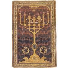 antique menorah tapestry menorah antique silk bezalel rug tapestries